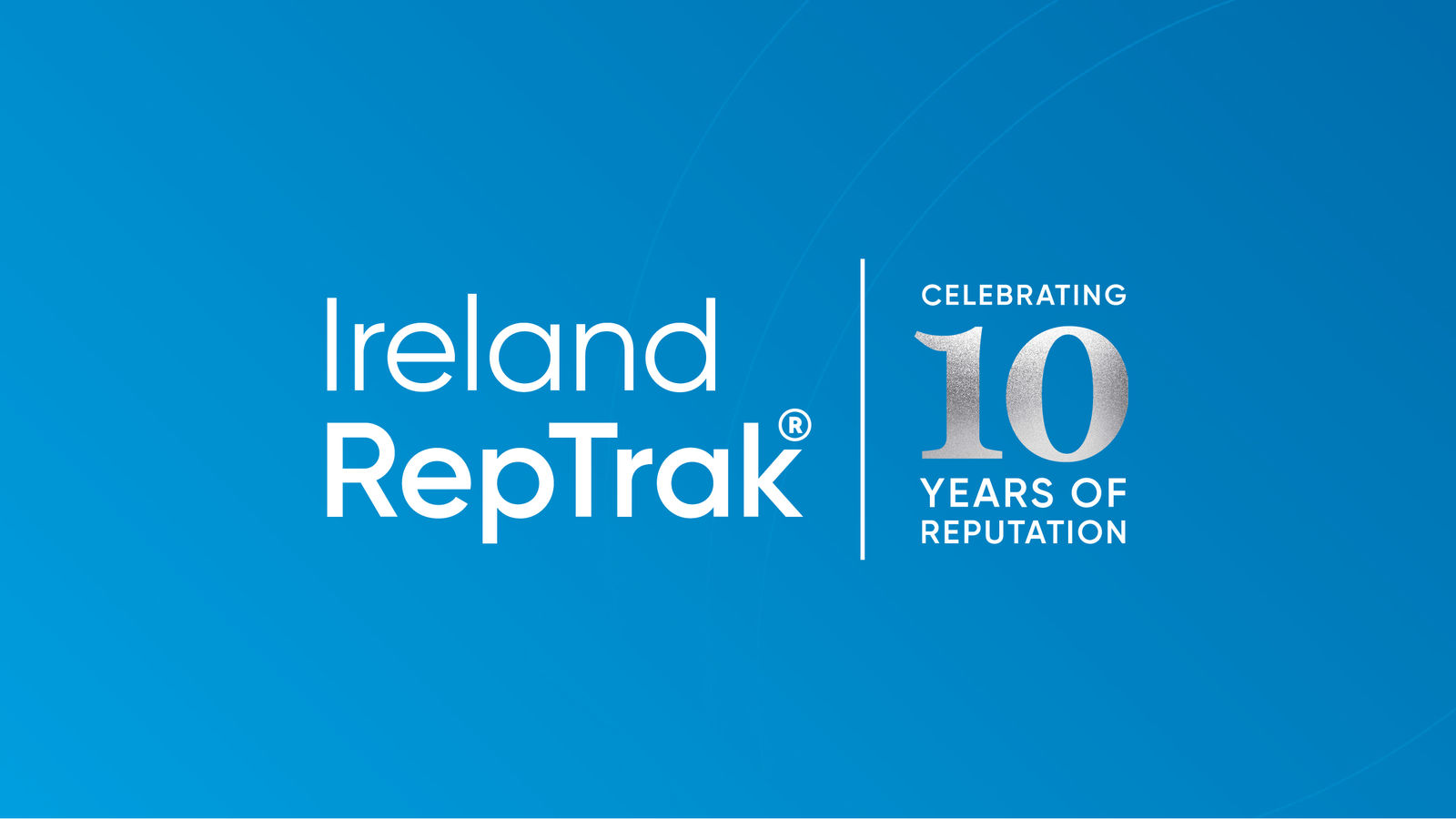 Ireland RepTrak 10 celebrating Years