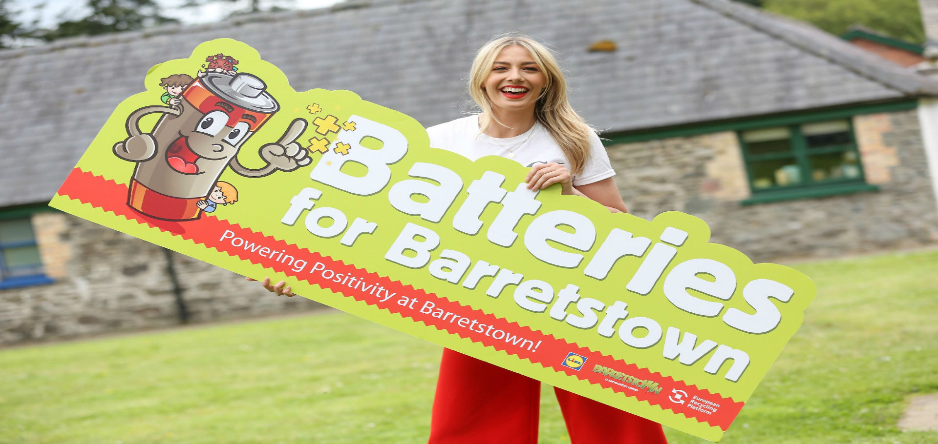 ERP Blathnaid Treacy launches Batteries for Barretstown