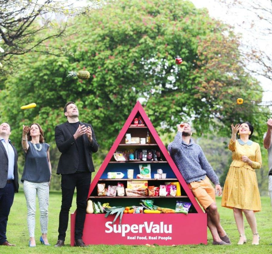 Supervalu Food Pyramid lets get Ireland cooking