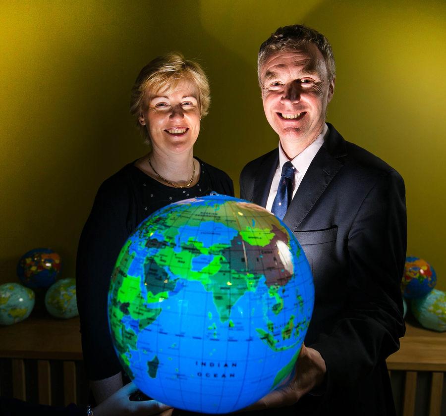 Helen Brophy, Director of Executive Development and Professor, Anthony Brabazon, Smurfit Business School