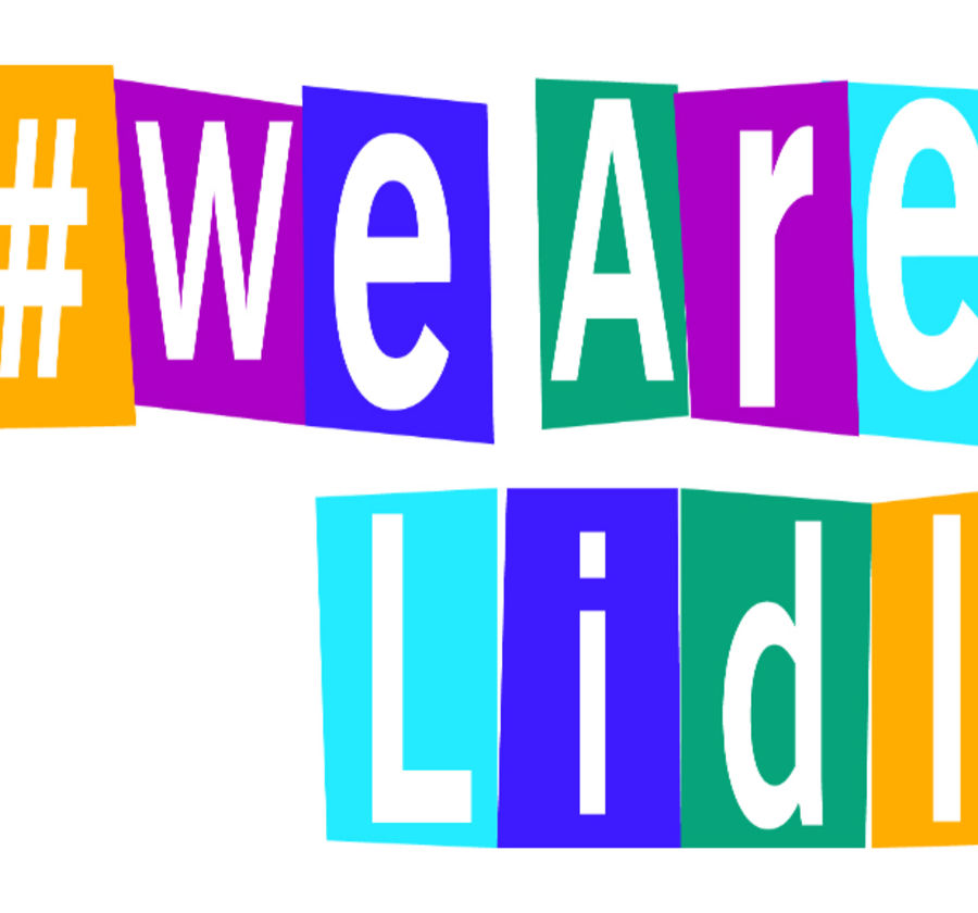 We are Lidl logo